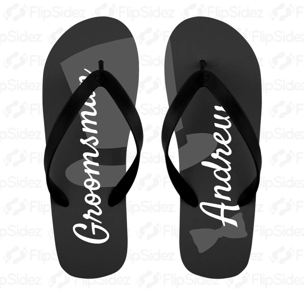 Groomsmen Flip Flops Flip Flops