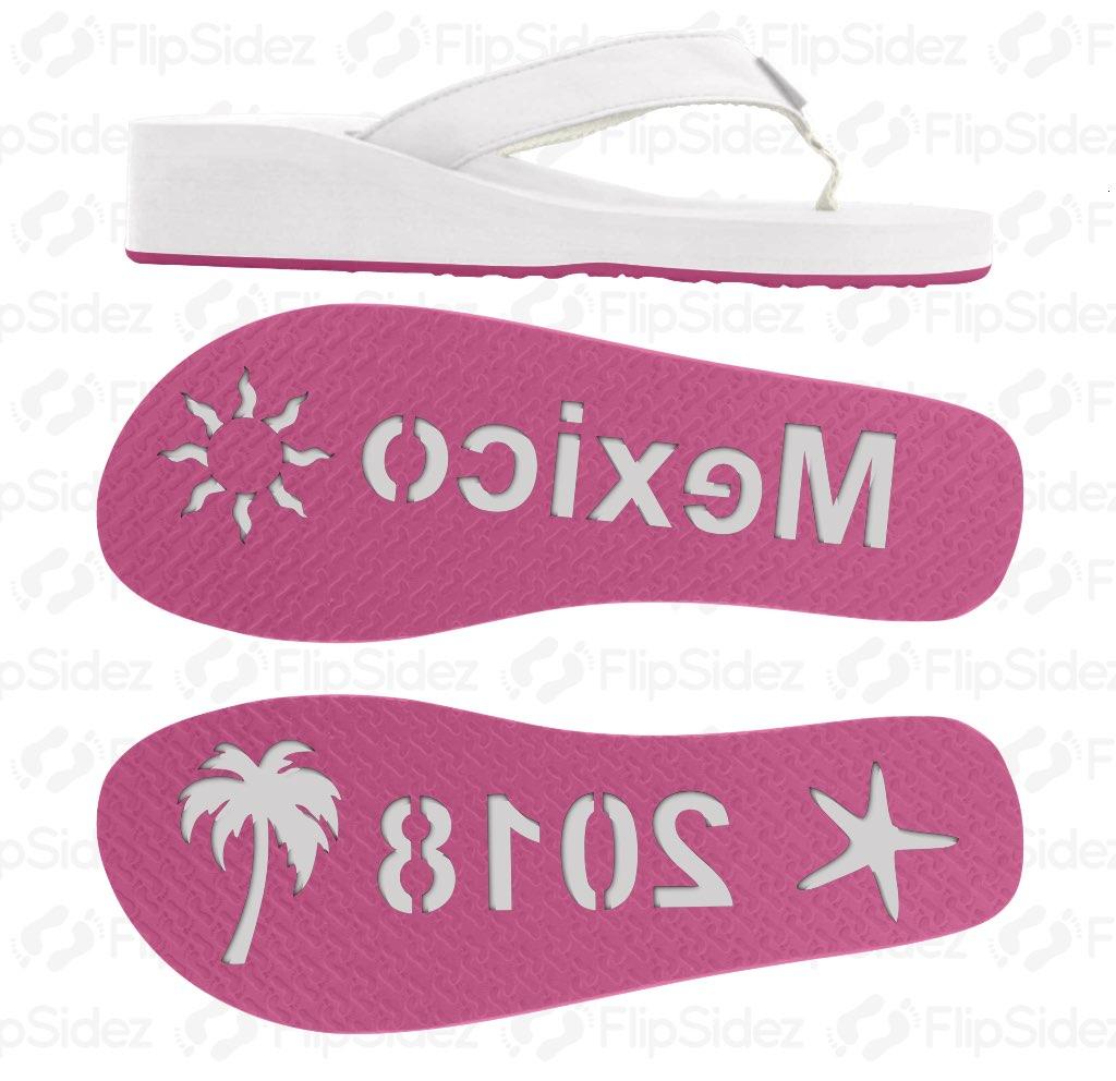 Mexico 2018 Flip Flops