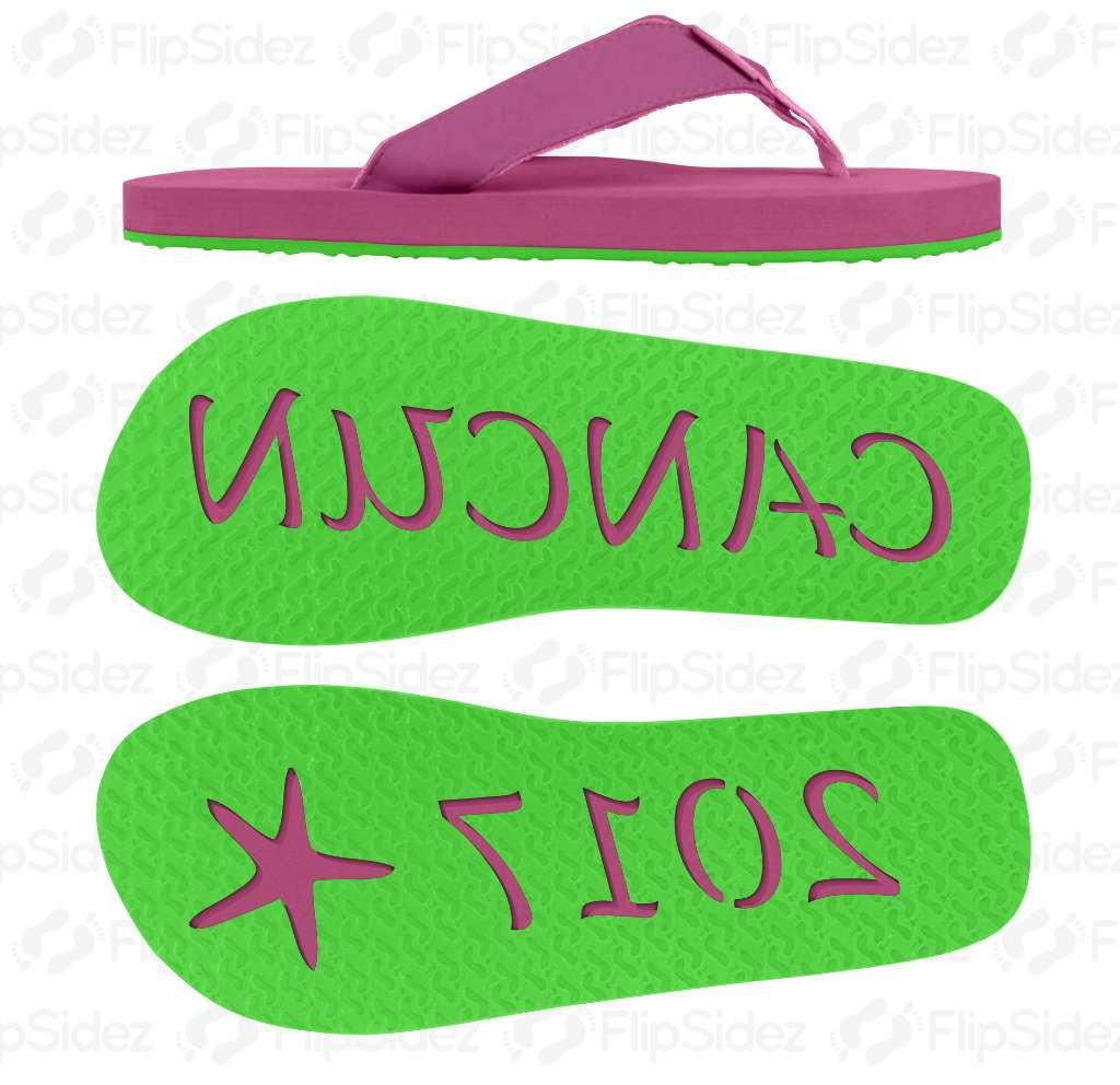 Vacation Flip Flops