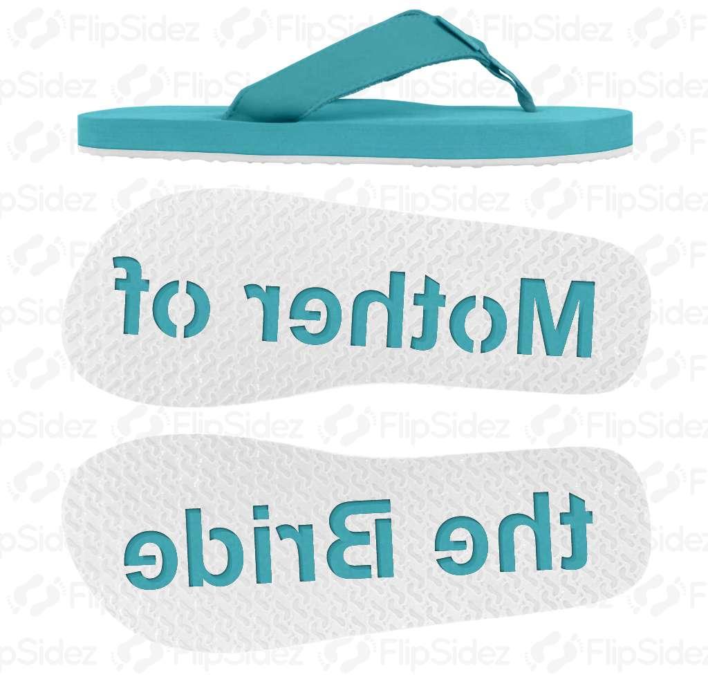 Mother of the Bride Flip Flops