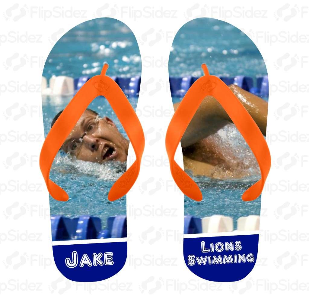 Swim Team Flip Flops Flip Flops