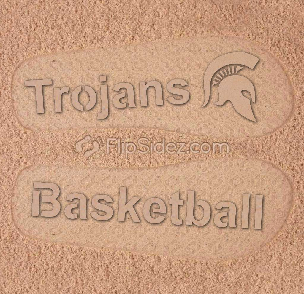 Basketball Team Name Flip Flops