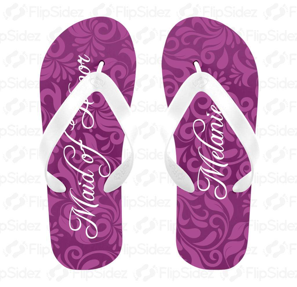 Maid of Honor Flip Flops Flip Flops