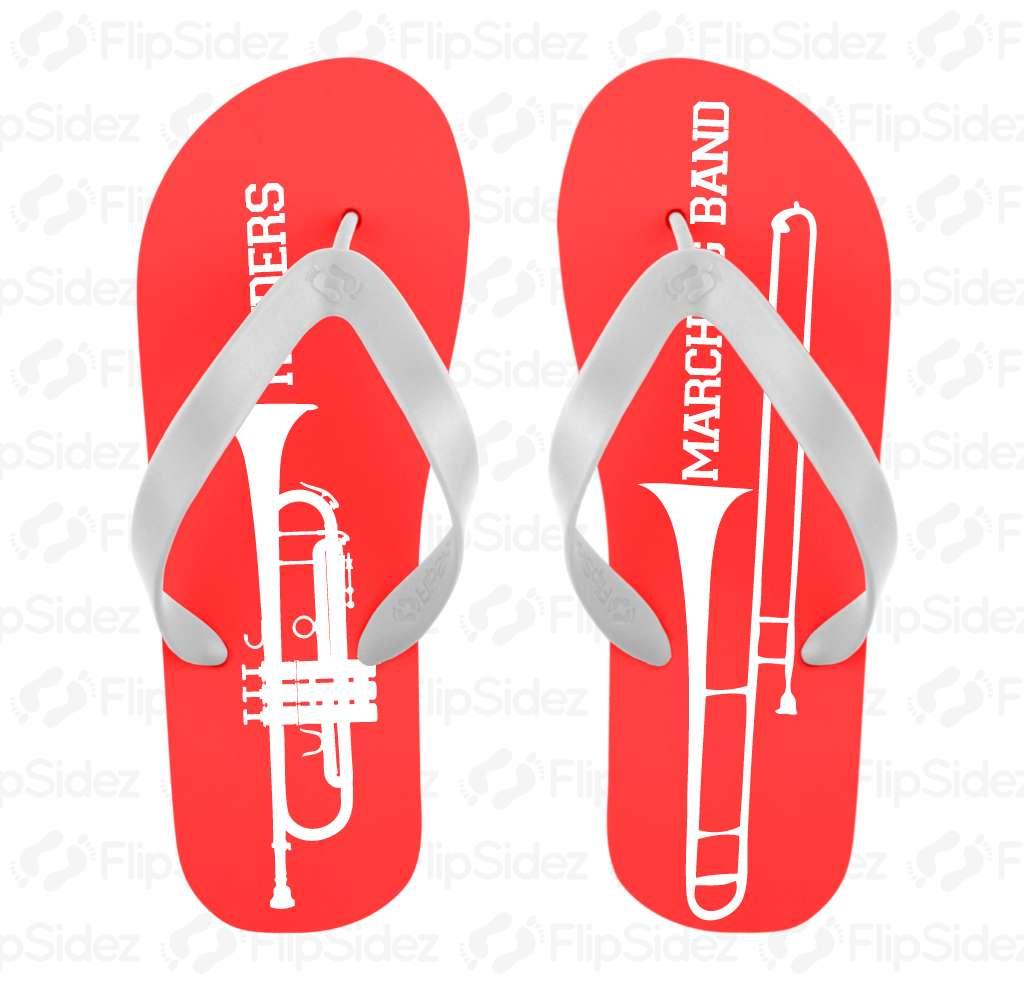 Marching Band Flip Flops Flip Flops