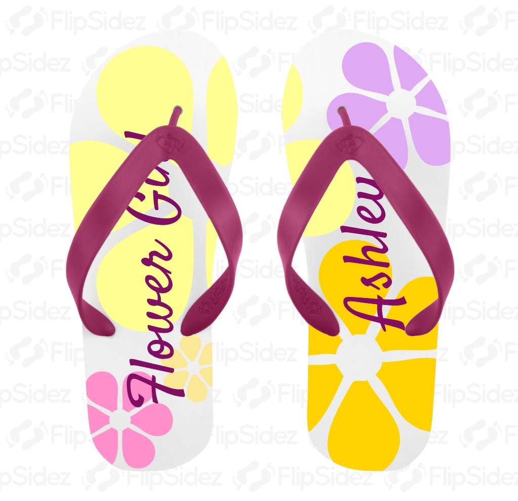 Flower Girl Flip Flops Flip Flops