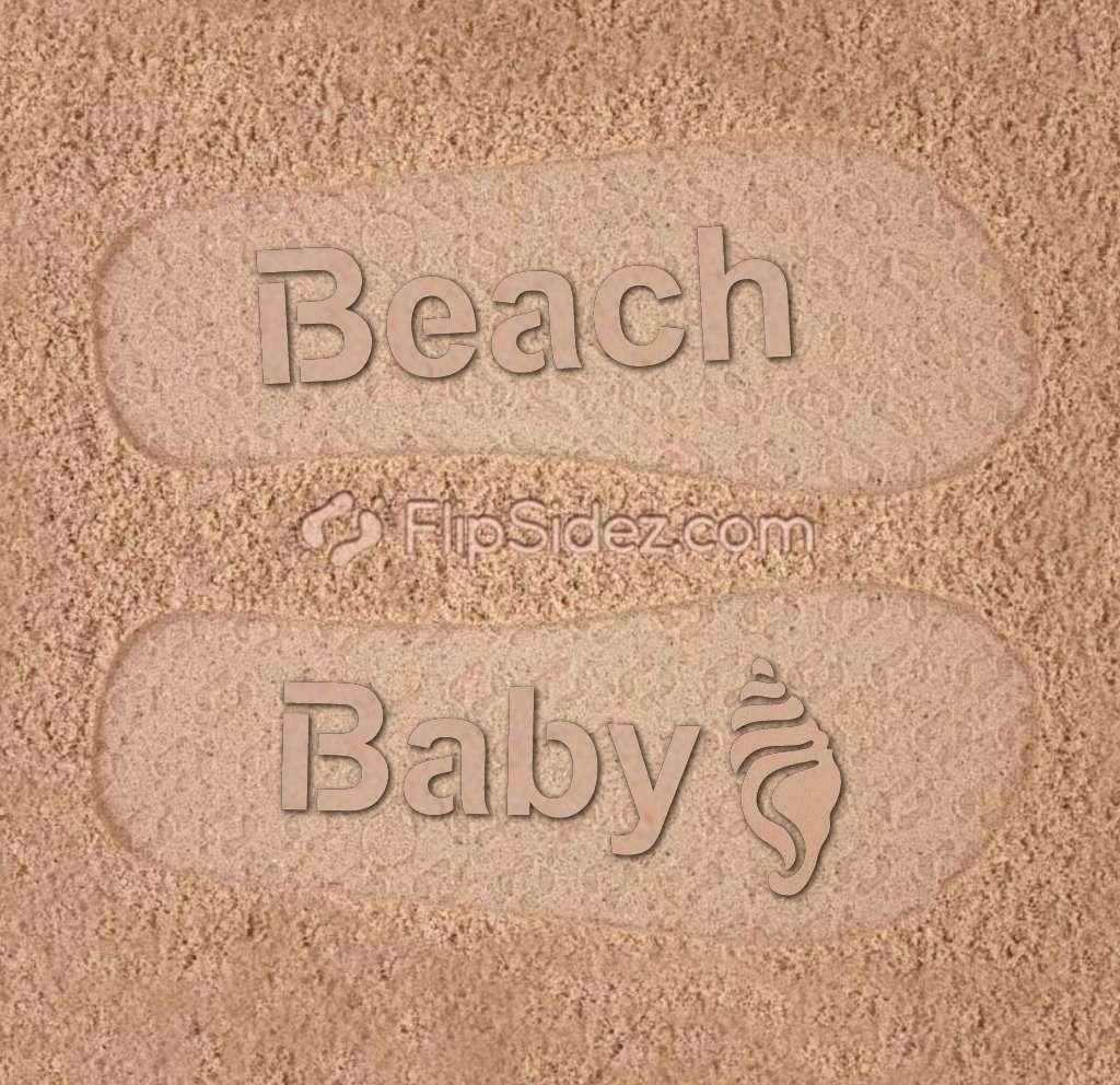 Beach Baby Flip Flops
