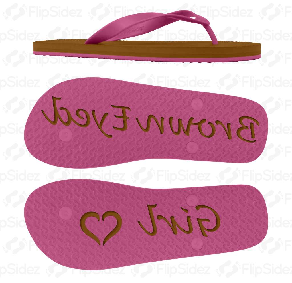 Brown Eyed Girl Flip Flops