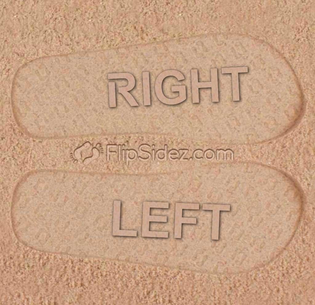 LEFT RIGHT Flip Flops