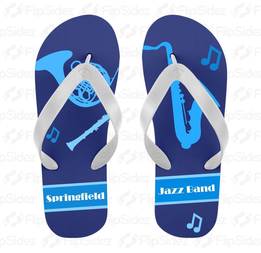 Jazz Band Flip Flops Flip Flops