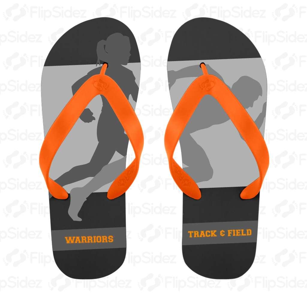Track & Field Flip Flops Flip Flops