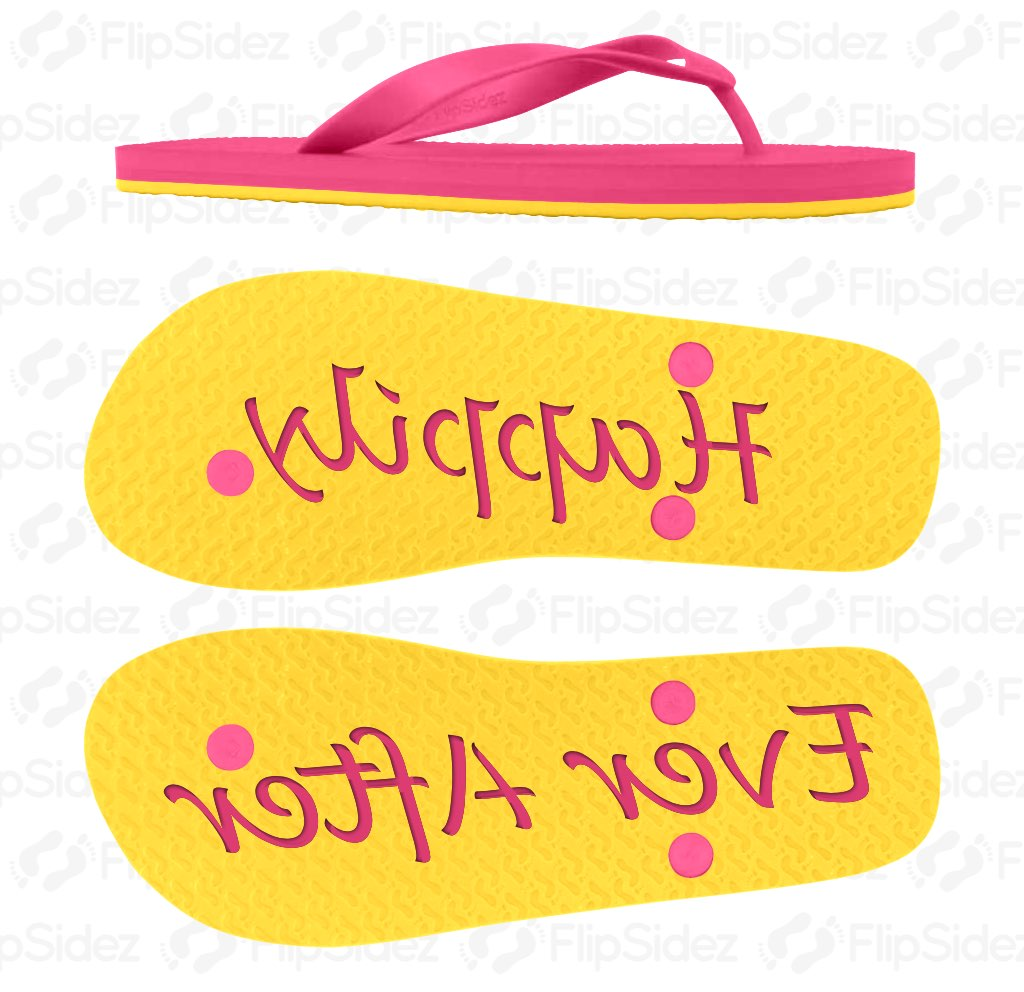 Happily Ever Afer Flip Flops