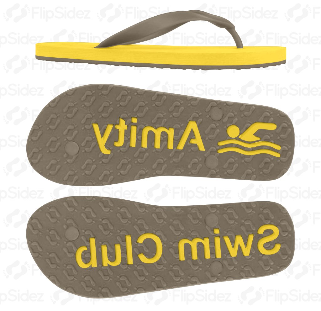 Swim Team/Club Flip Flops