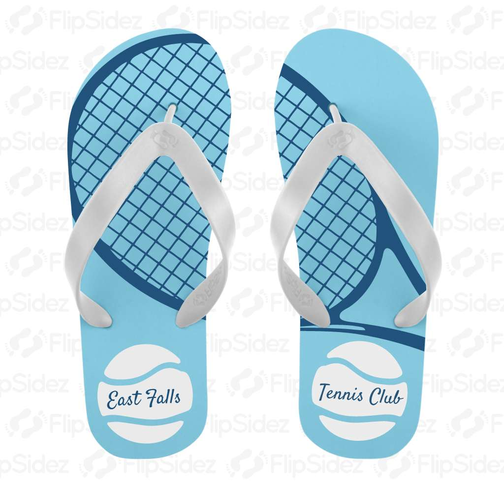 Tennis Team Flip Flops Flip Flops