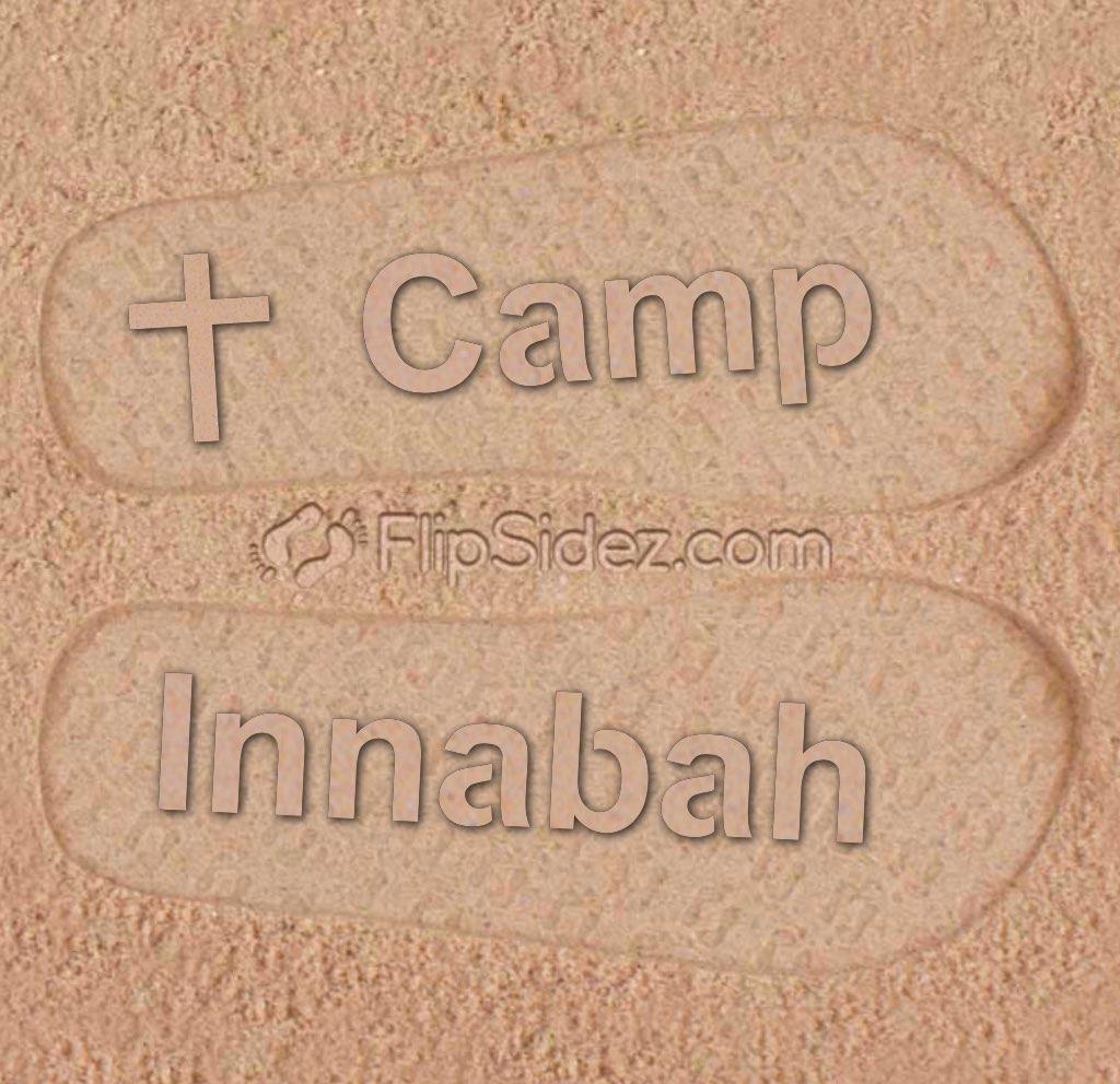 Summer Camp Flip Flops