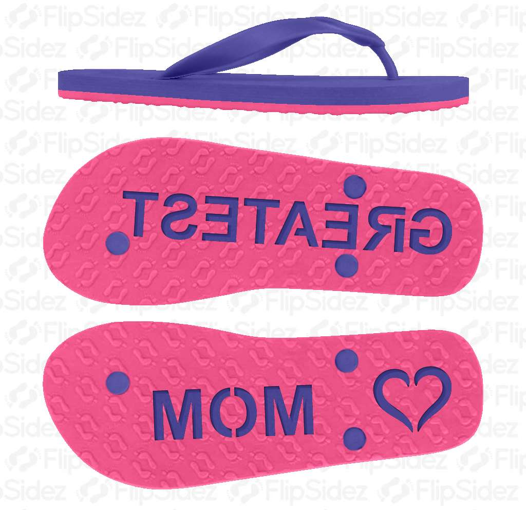 GREATEST MOM Flip Flops