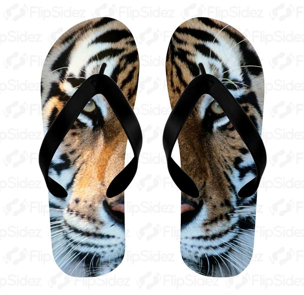 Tiger Flip Flops Flip Flops