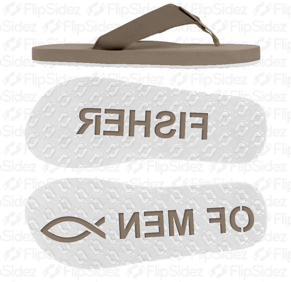 FISHER OF MEN Flip Flops