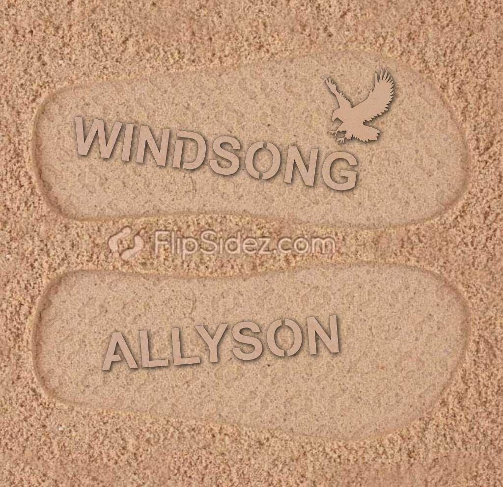 Windsong Ranch Elementary Flip Flops