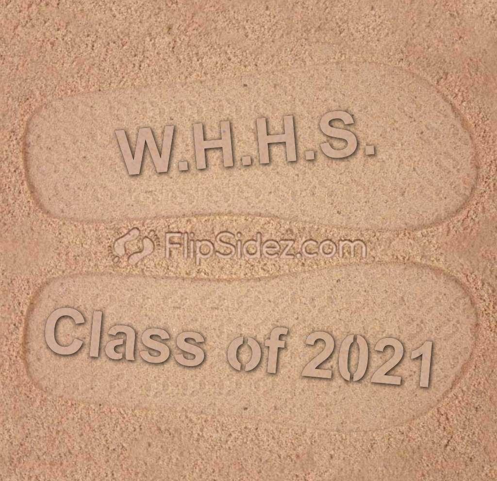 School NAME, Class of YEAR Flip Flops