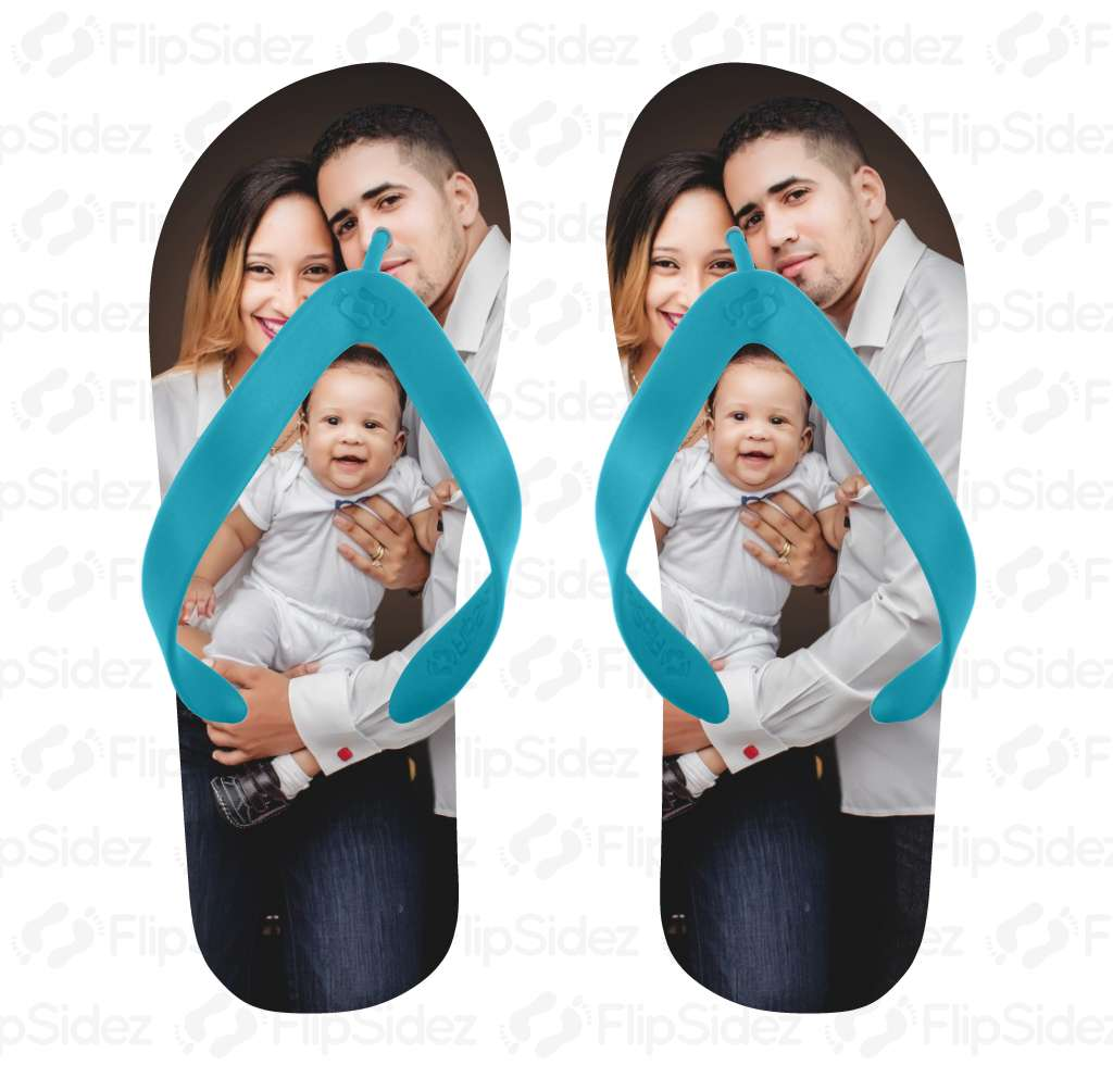 Family Photo Flip Flops Flip Flops