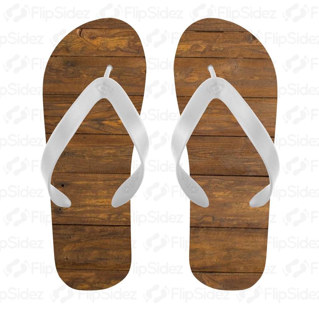 Wood Board Flip Flops Flip Flops