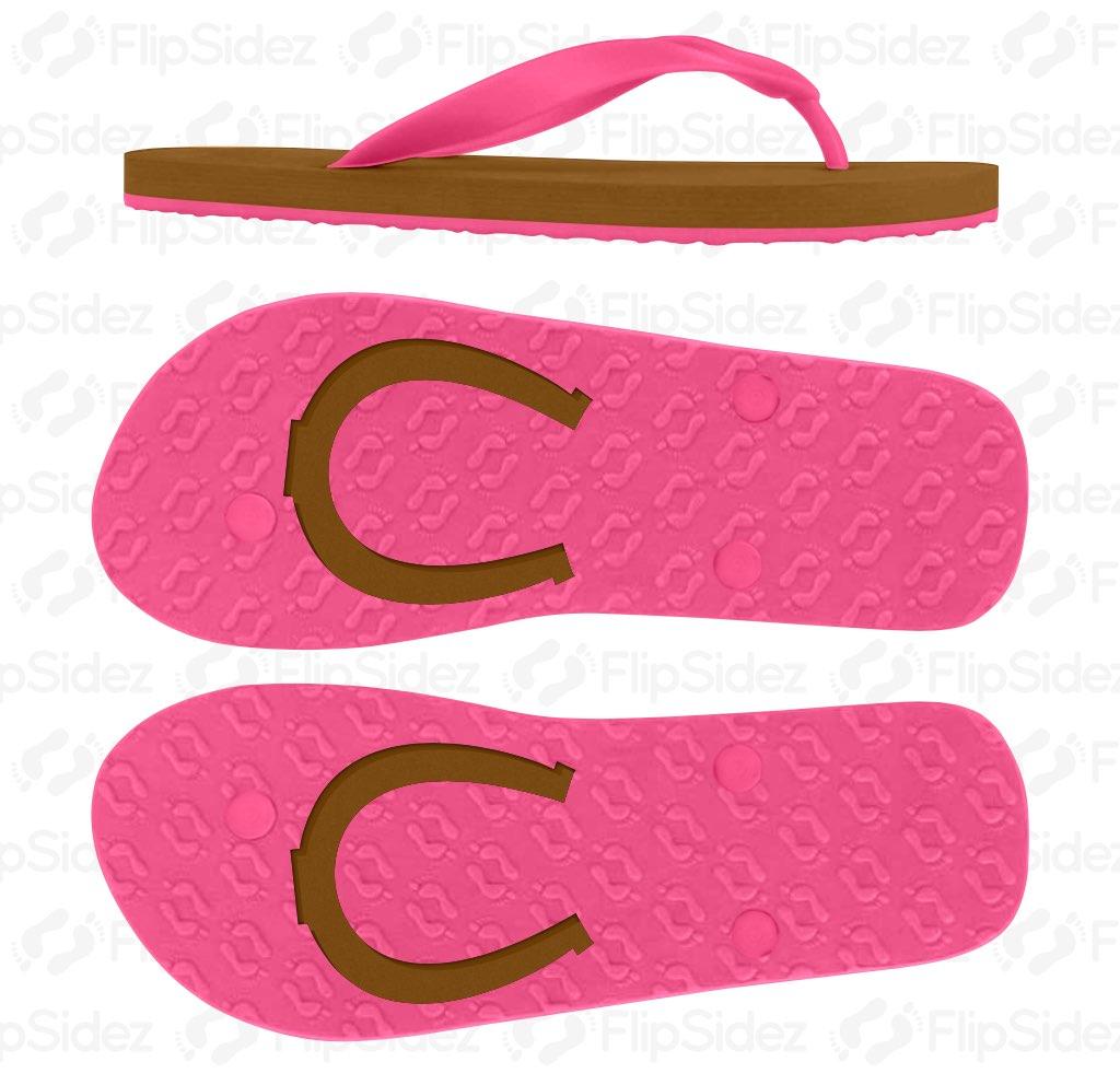 Horseshoe Flip Flops