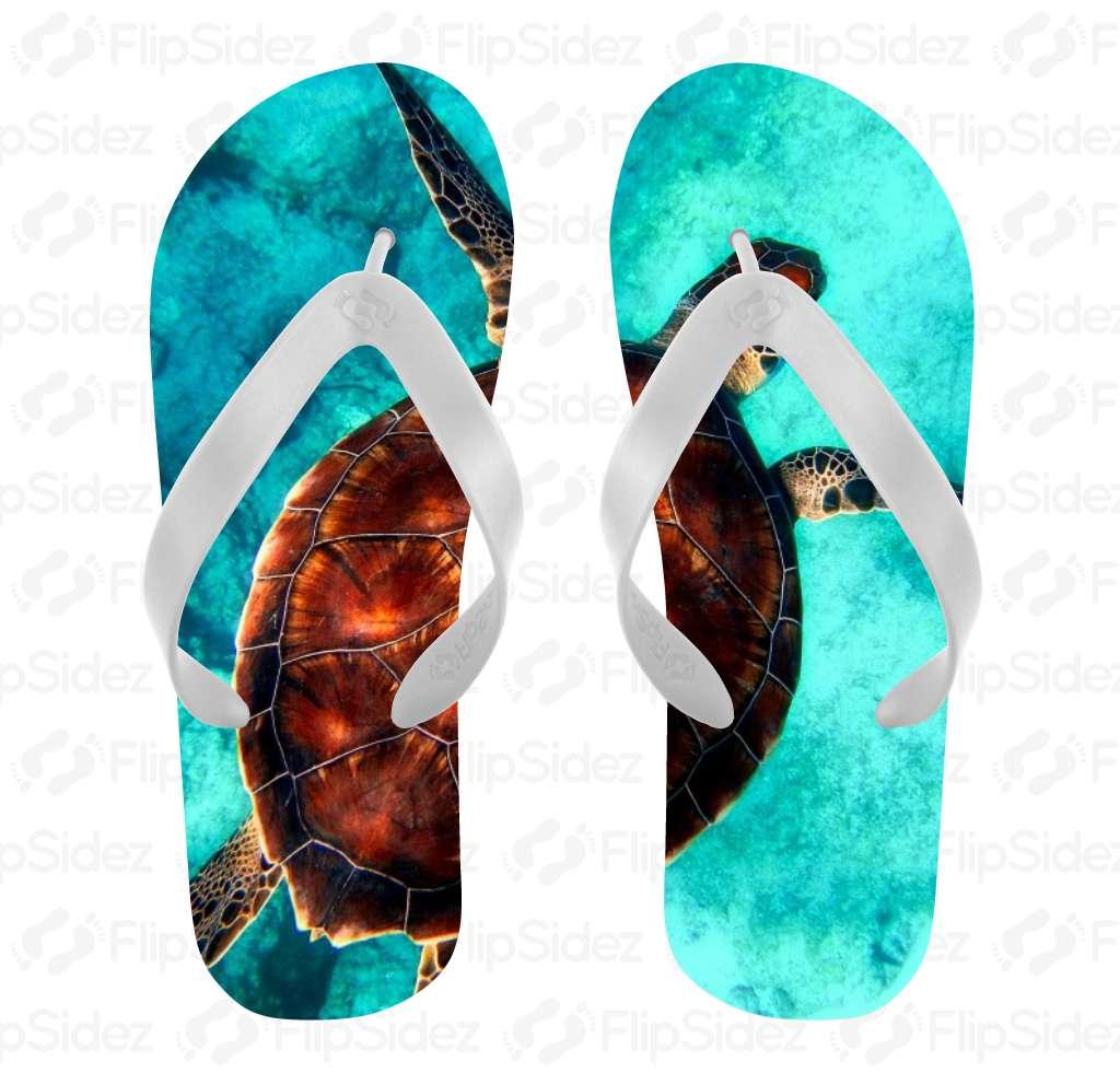Sea Turtle Flip Flops Flip Flops