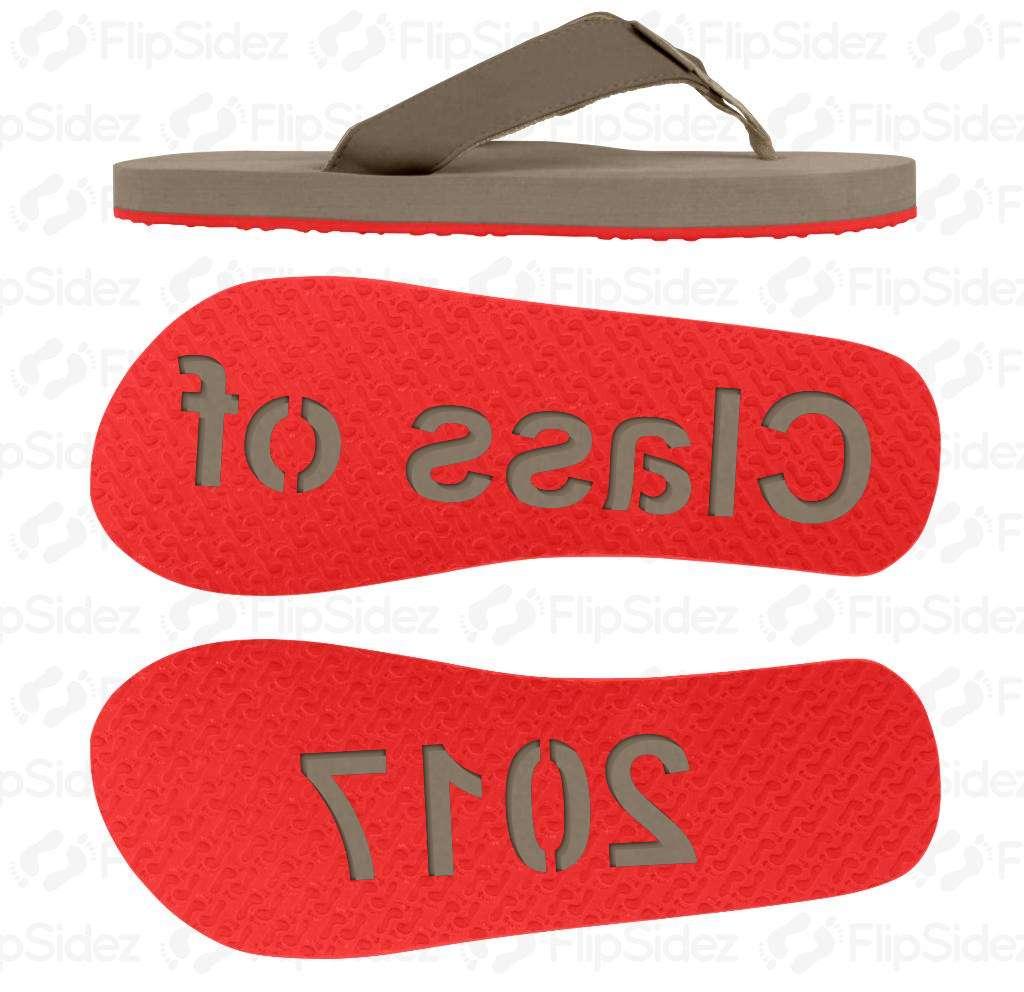 Class of 2017 Flip Flops