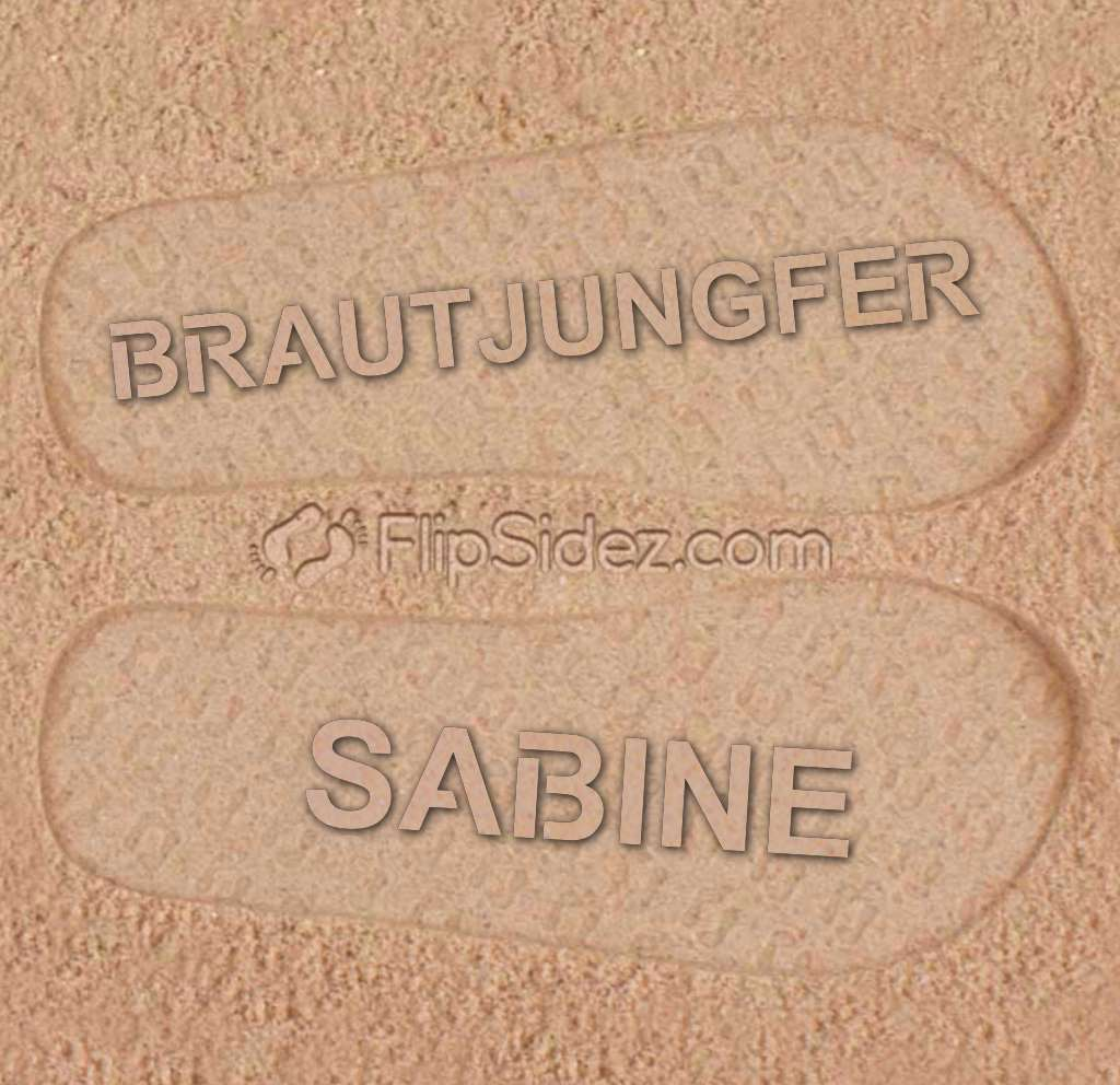 BRAUTJUNGFER Flip Flops