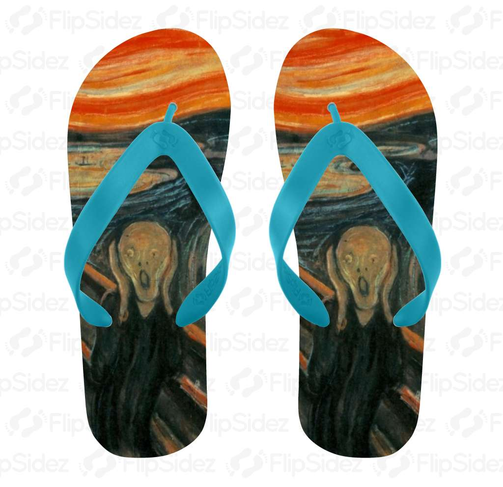The Scream Flip Flops Flip Flops