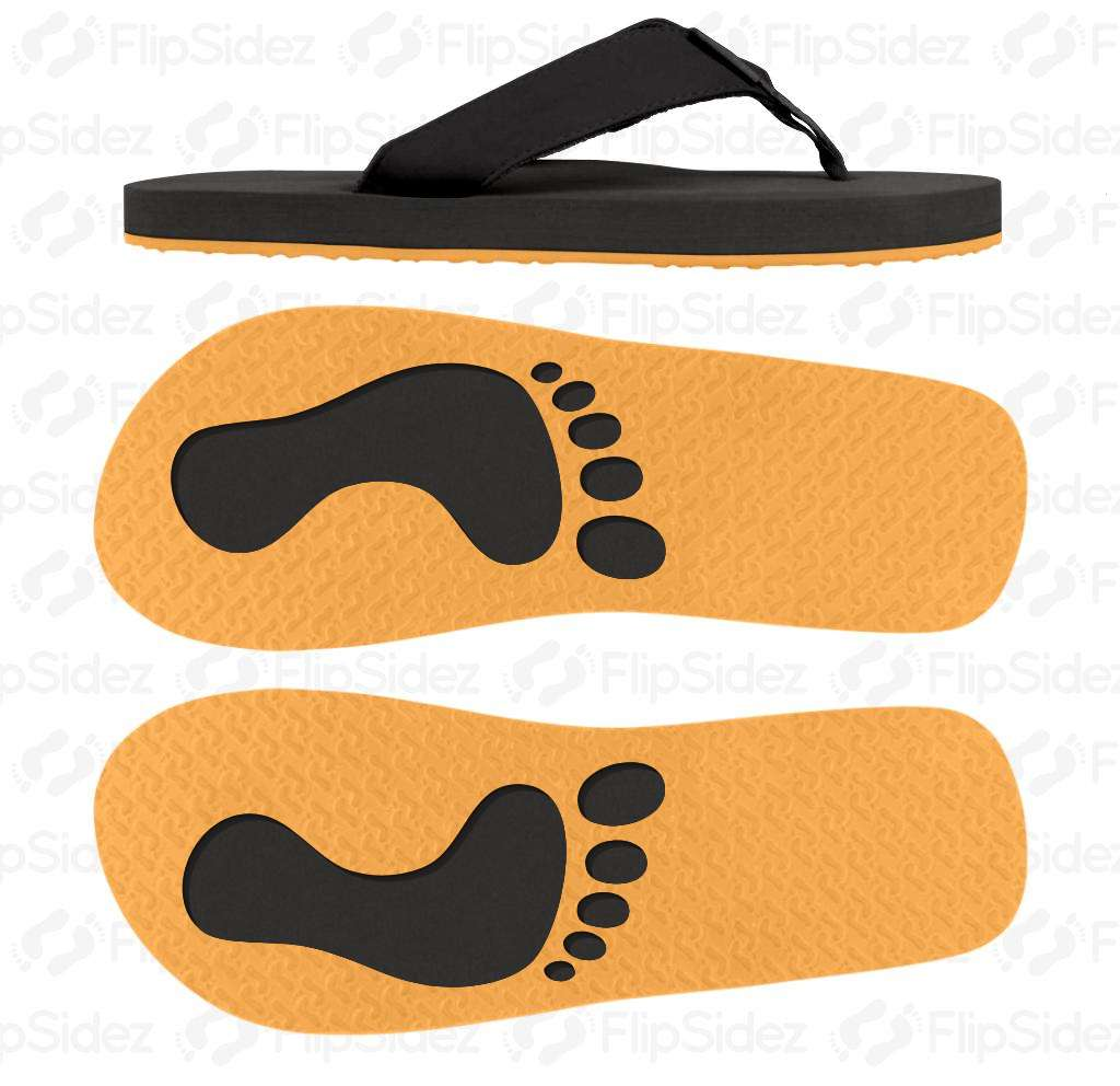 Which Way? Footprints Flip Flops