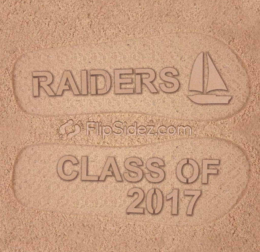 School Name, Class of 2017  Flip Flops