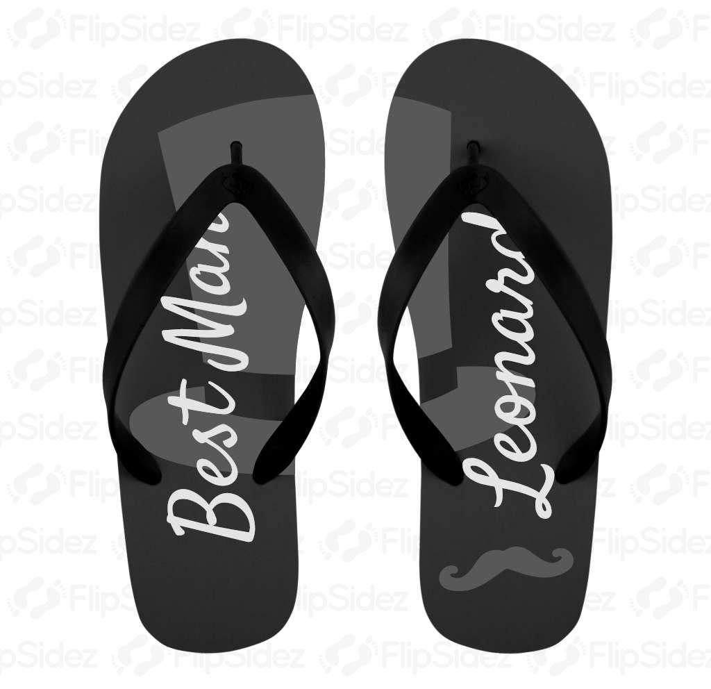 Best Man flip flops Flip Flops