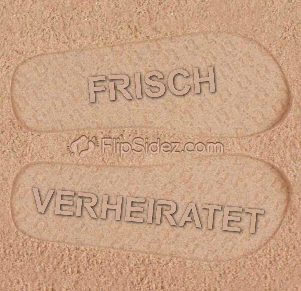 FRISCH VERHEIRATET  Flip Flops