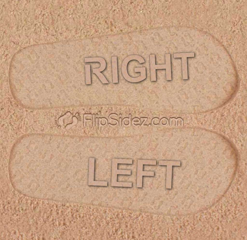 LEFT RIGHT Flip Flops