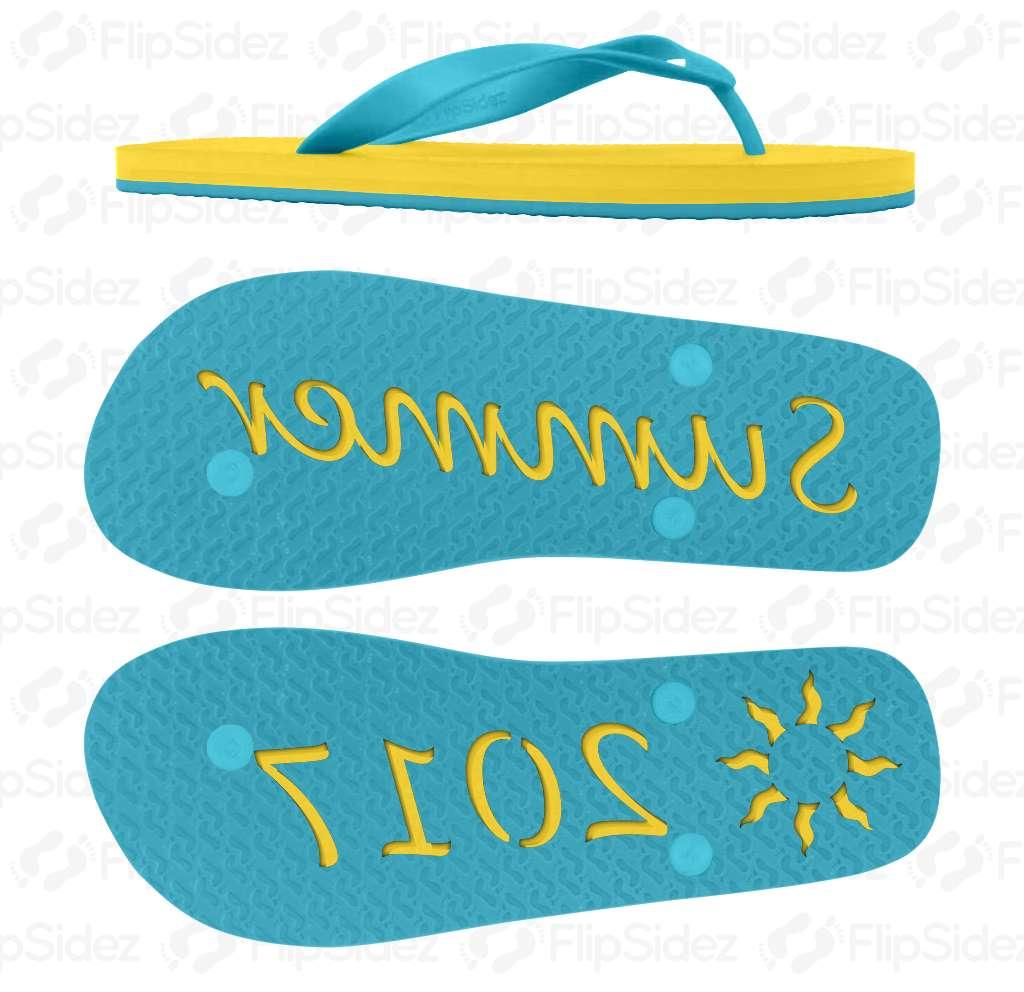 Summer 2017 Flip Flops