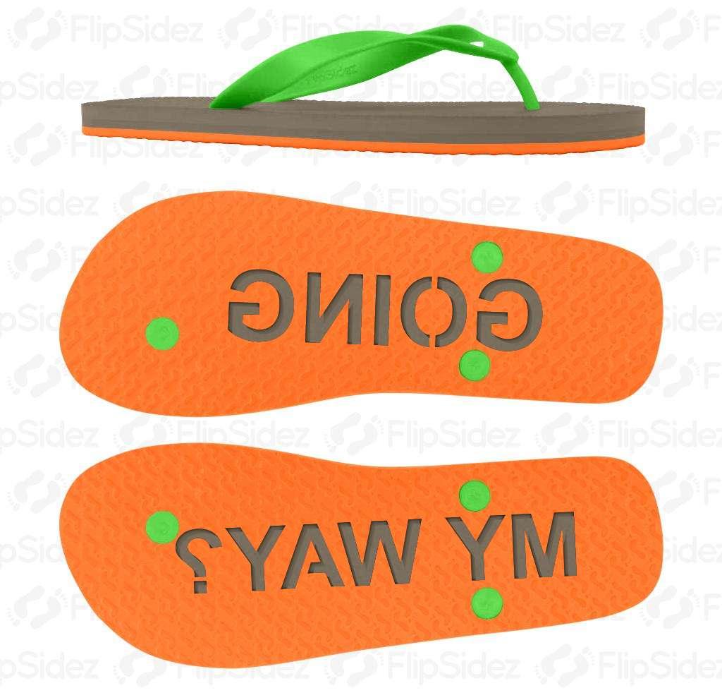 Going My Way? Flip Flops