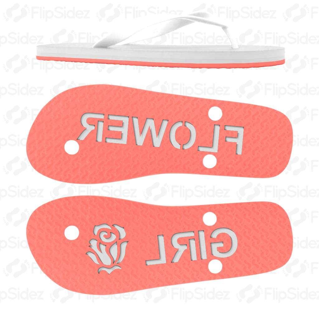 Flower Girl Flip Flops