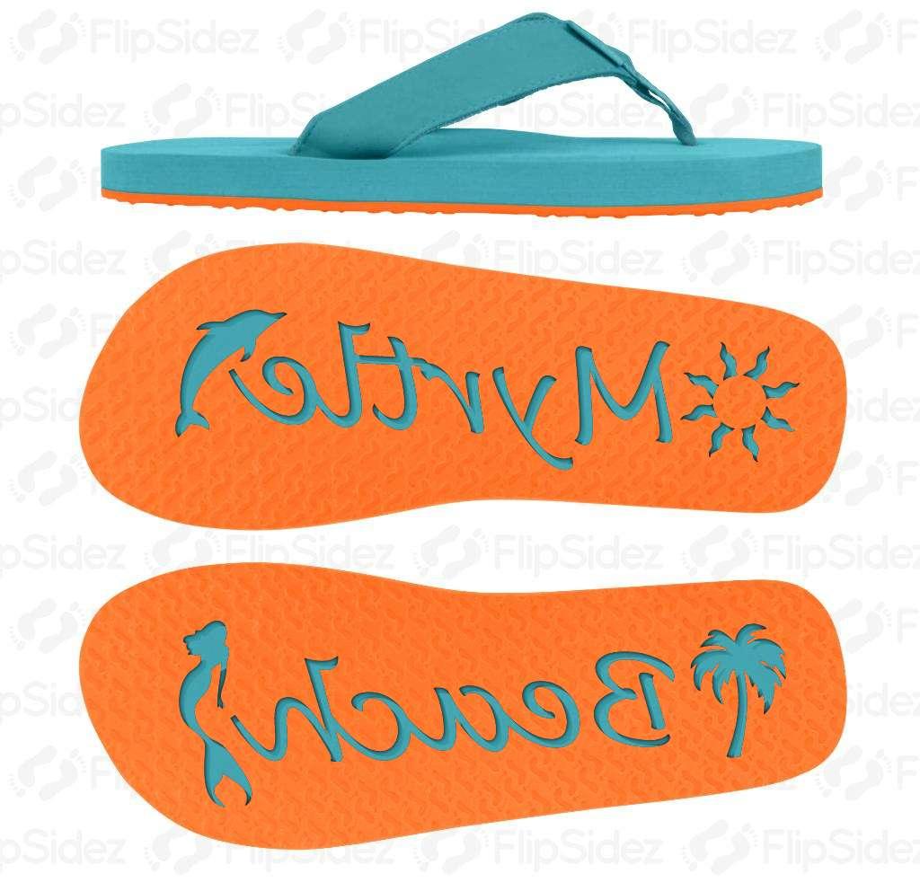 Beach NAME Flip Flops