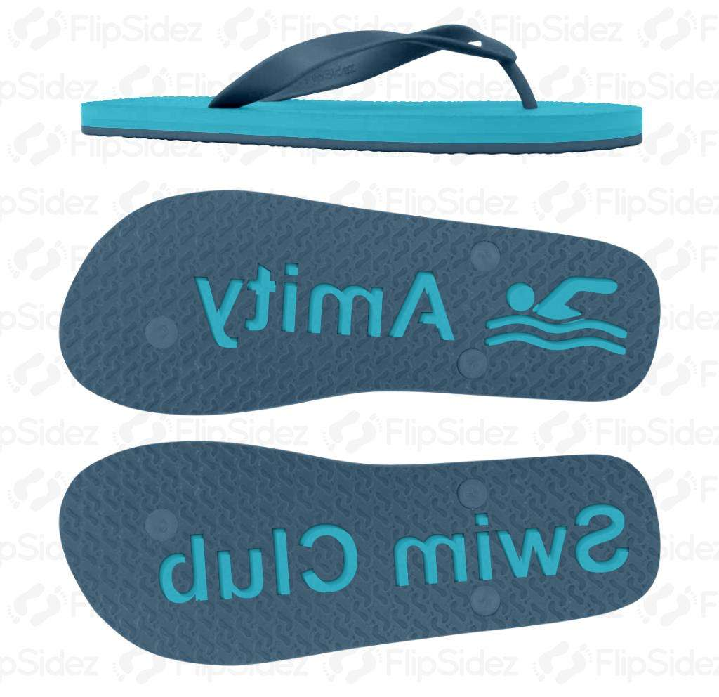Swim Team/Club Flip Flops