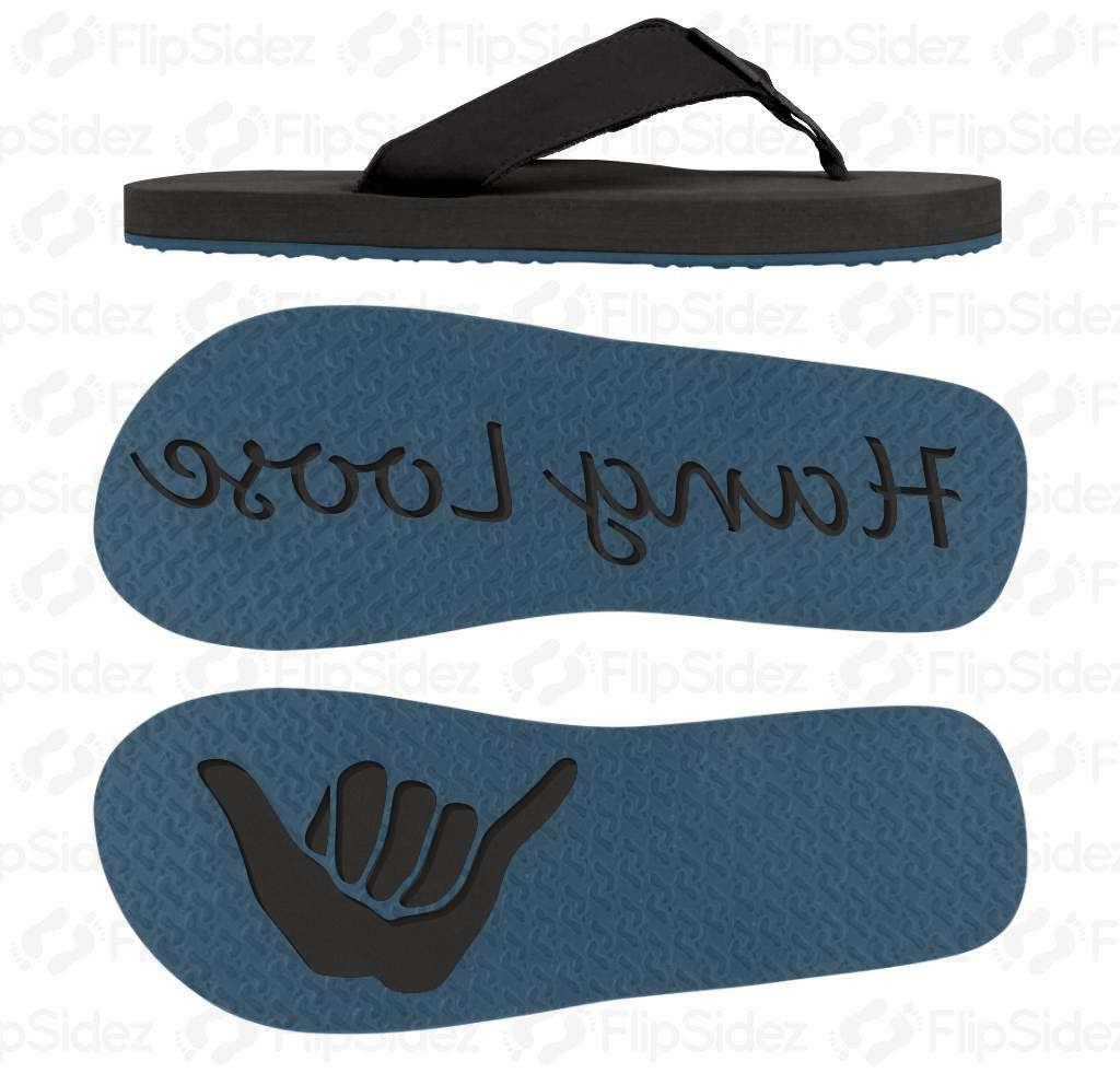 Hang Loose Shaka Flip Flops
