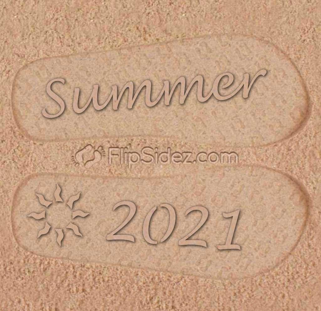 Summer Year Flip Flops