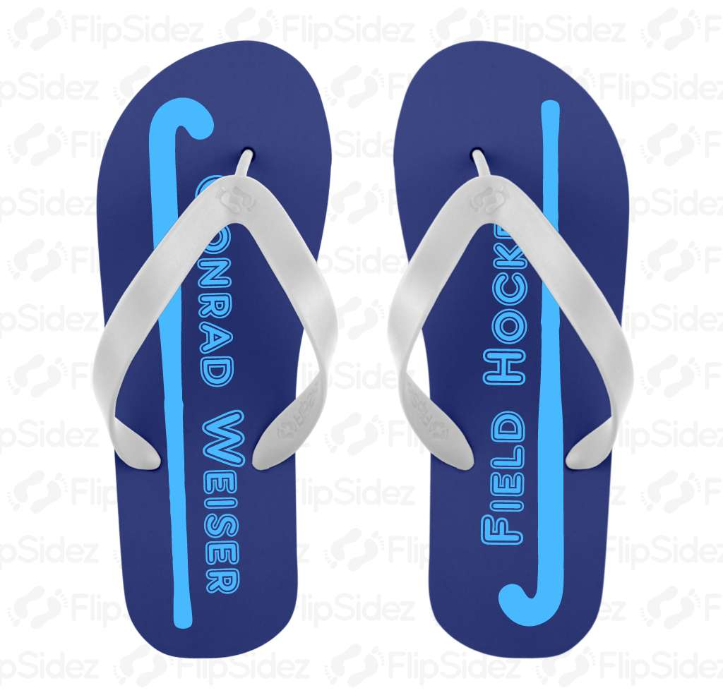 Field Hockey Team Flip Flops