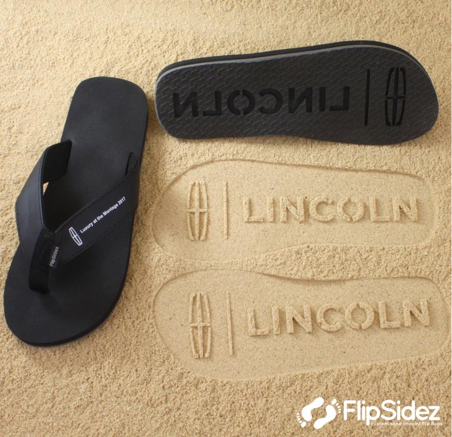 109b5f1d5df88e Description. Custom logo sandals ...