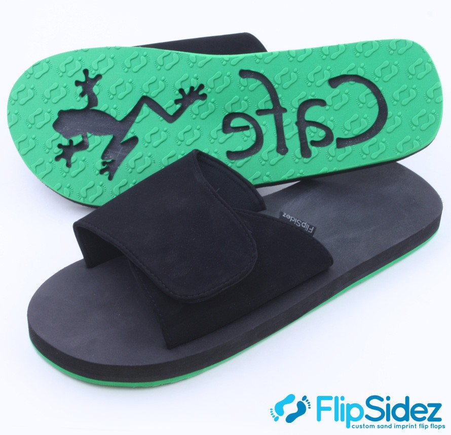 fca992b5 You Might Also Like. Custom Logo Flip Flops ...