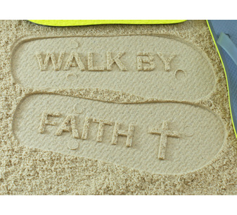 Walk By Faith Flip Flops