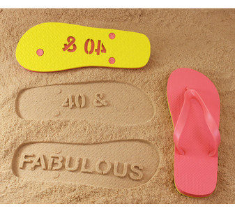 AGE and Fabulous Flip Flops
