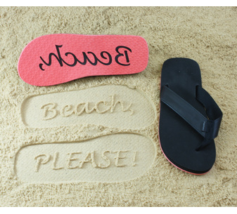 Beach Please! Flip Flops