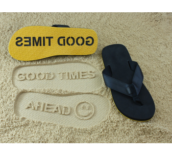 Good Times Ahead Flip Flops