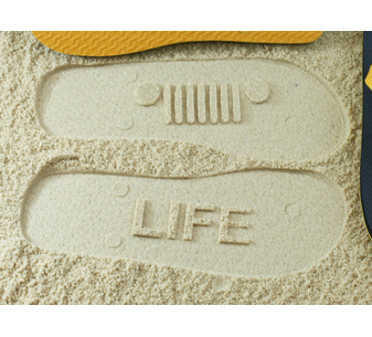 JEEP Life Flip Flops
